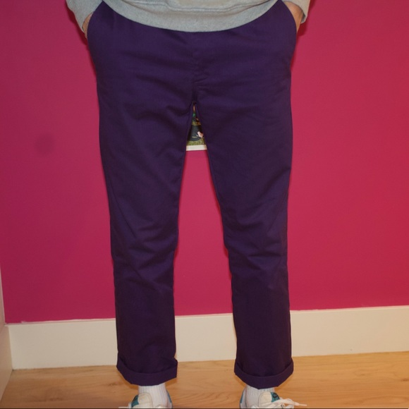 62763d4b43f2 Supreme Pants | Purple Work | Poshmark